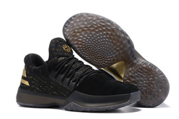 Wholesale Blue Star Sales - With Box Harden VOL 1 imma Be a Star black gold Hot sales free shipping James Harden Basketball shoes us 7-12