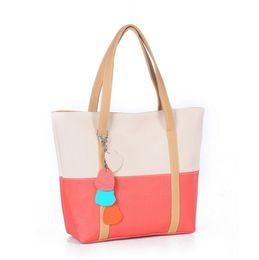 Wholesale Messenger Product - Cheap Products NEW Spring bag Vintage women messenger bags women's Contrast Color Shoulder Bag