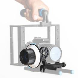 Wholesale Film Releases - DSLR Follow Focus Finder Quick Release for 15mm Rod Rig for DSLR Cameras DV Camcorder Film Video Cameras,Shoulder Supports
