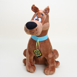 Wholesale Scooby Doo Dog Toys - Wholesale-13'' Soft Plush Cute Scooby Doo Dog Dolls Stuffed Toy New Christmas Gifts