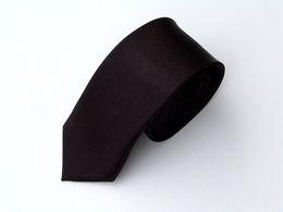 Wholesale Slim Knitted Ties - Slim Skinny Tie Mens Tie Necktie Neck TIE 50pcs lot mixed design color #1312