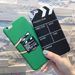 Wholesale Cover Iphone Movie - Fashion Cool Case For Iphone 5 5S SE 6 6S 7 7 Plus Hard Matte Cover Movie pallets Pattern Phone Back Cover Coque YC1944