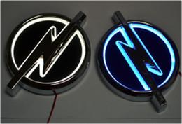 2019 ford chrom-logo Auto der Qualitäts 5D führte Emblemauto geführtes Abzeichenauto geführtes Symbollogo für Opel-Größe 133x101mm