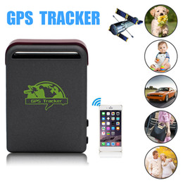 Wholesale Gsm Button - Kids Pet Car Tracking GSM GPRS Global Locator Real-Time Tracker TK102b Mini GPS Tracker With SOS Button SMS Photography Video