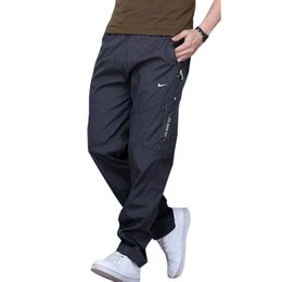Wholesale Working Woolen - 2017 New quick-drying polyester movement within Europe and indoor and men's work pants Sweatpants big yards