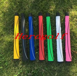 Wholesale Putter Wholesale - Top quality golf grips matador grips 7colors rubber 20pcs putter grips DHL ship golf clubs