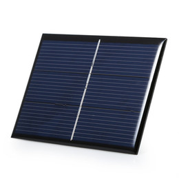Wholesale Cable Light Kits - High Quality 0.65W 1.5V Solar Cell Polycrystalline DIY Solar Panel Charger System For Led Light +Cable  Wire Education Kits Epoxy