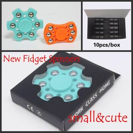Wholesale Bear Toy Box - New Arrival Fidget Spinner HandSpinner Hand Spinner Finger Spin 3 Minutes For Decompression Anxiety Metal Ball Bearing EDC De in retail box