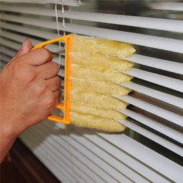 Wholesale Window Cleaner Brushes - 1pc Microfibre Venetian Blind Brush Window Air Conditioner Duster Clean Cleaner