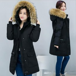 Wholesale Fur For Hood - Winter hot sale new Canada Down Jacket Parkas for Women Ladies Women Coats Hood Parka women jackets Real Fur Collar Long Style Overcoat