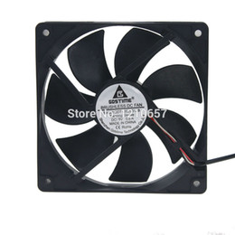 Wholesale Cool Fan 5v - Wholesale- 2PCS LOT Gdstime DC 5V USB 120mm 120*120x25mm 12025S Cooler Motor Brushless Cooling Fan