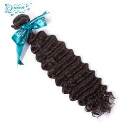 Wholesale Princess Hair Weave - Hot Selling 7a Mink Malaysian Deep Wave Virgin Hair 1 Bundles Deal Princess Hair Malaysian Virgin Hair Sale Free Shipping 100g Real