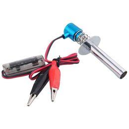 Wholesale Hsp Glow Plug Igniter - RC 80100 Blue Electronic Glow Plug Igniter 6V-12V For HSP Nitro Car Engine