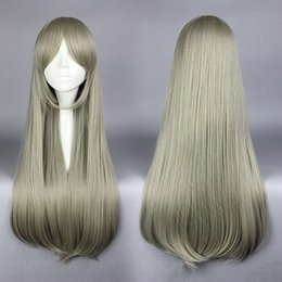 Wholesale Blonde Lolita - MCOSER Fashion Women's Hair 75cm Anime Yurikuma Arashi Kureha Tsubaki Long Blonde Synthetic Lolita Cosplay Wig