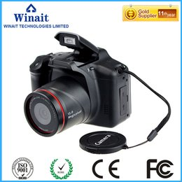 Wholesale Video Digital Frame - Wholesale-HD720p SLR Similar Digital Video Camea with 2.8'' TFT Display and 4x Digital Zoom Free Shipping