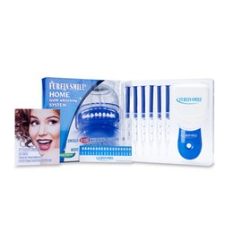Wholesale Bright White Teeth - 35%CP Professional Teeth Whitening Kit Whitelight Bright White Smiles Bleaching System Tooth Whitening Kit Free Shipping