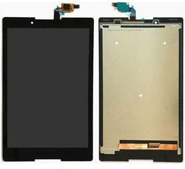 Wholesale Touch Tablet Lenovo - Wholesale- For Lenovo TB3-850F tb3-850 tb3-850F tb3-850M Tablet PC Touch Screen Digitizer+LCD Display Assembly Parts Black 100% Tested