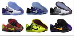 Wholesale Women Leather Boots Size 11 - Wholesale Kobe XI Elite Low Basketball Shoes Kid Women Men 2016 Retro KB 11 Boots High Quality Sneakers Cheap Sports Shoes Size 36-46