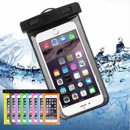 Wasserdichte tasche tasche tauchen pvc online-Trockener Beutel-wasserdichter Kasten-Beutel PVC-schützender Universaltelefon-Beutel-Beutel mit Kompass-Taschen für das Tauchen Schwimmen bis zu 5,8 Zoll