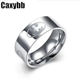 Wholesale Stainless steel men s rings jewelry on behalf of the international trade and the explosion of European and American models of stainless ste