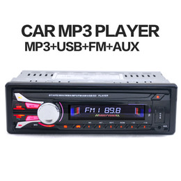 Wholesale Car 1din - 1188B 1DIN 12V Car Radio Stereo FM MP3 Player Bluetooth AUX Input with Detachable Front Panel and Remote Control CAU_01K