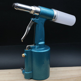machines-outils industrielles Promotion Taiwan Pneumatique Rivet Gun Three Claw Rivet Tool Air Riveter Industrial Core Pulling Rivet Machine 2.4, 3.2, 4.0, 4.8