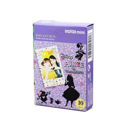 Wholesale Polaroid Instant Camera Film - High Quality Instax Film Instax Mini Full Color ALICE In Wonderland Instant Film For Mini 7s 8 25 50s 90 Polaroid Instant Camera
