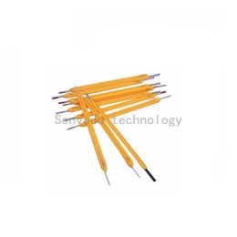 Wholesale Current Degree - Wholesale- 100X High quality LED filament chip 360 degree input voltage 75V current 10mA CRI >80 for bulb light candle light free shipping