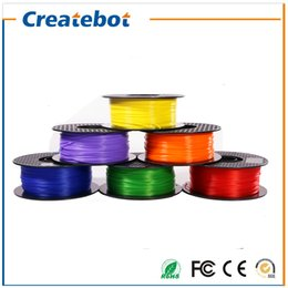 Wholesale 3d Spool - Newest Createbot PLA Filament 1.75mm 1kg one Spool for 3D Printing Affordable Price PLA Filament