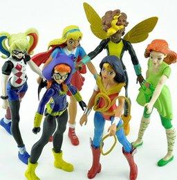 Wholesale Dc Comics Action Figures Wholesale - DC COMICS Designer Series Batgirl figure Supergirl   Suicide Squad Harley Quinn PVC Action Figure Collectible Model Toy