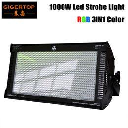 Wholesale High Jumping - TP-S1000RGB 1000W RGB Stage Led Strobe Light Tri color mixing High Power Club Flash Light DMX512 Control 3pin 5pin Socket
