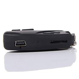 Wholesale Mini Keychain Hidden Camera - MINI Spy Car Key Camera Hidden 808 KeyChain Digital Cam Chain DV DVR WebCam Camcorder Video Recorder Free Shipping