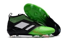 Wholesale Discount Indoor Soccer Shoes - Big Discount Ace 17 Purecontrol Fg Dragon Soccer Cleats for Sale Boots Mens Soccer Shoes Ace 17 Original Football Boots Breathable