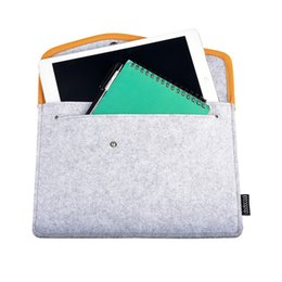 Wholesale Pad Wifi - dodocool 9.7 Inch Tablet Felt Envelope Cover Sleeve Carrying Case Protective Bag for Apple 9.7-inch iPad Pro   iPad Air 2   1 DA57