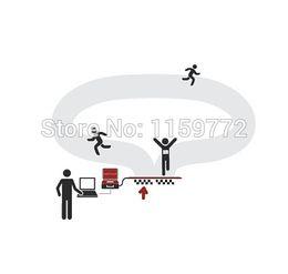 Wholesale Labels For Shoes - Wholesale- US 902-928mhz marathon rfid shoe tag label epc gen2 iso18000-6c  passive sports Athletes shoe tag disposable for running