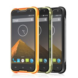 Wholesale Ip67 Cellphone - Original Blackview BV5000 IP67 Waterproof Rugged Smartphone MTK6735 Quad Core 5 Inch 4G LTE Cellphone 2GB RAM+16GB ROM Unlocked