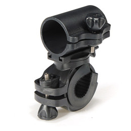 Wholesale Rotation Torch Clip - Portable Cycling Bike Bicycle Light Lamp Stand Holder Rotation Grip LED Flashlight Torch Clamp Clip Mount Bracket Accessories