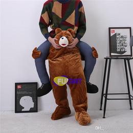 2a7824e4bb 2017 vestito di fantasia dell'orso FUMAT Orso Orangutan Mascotte Sumo Ride  sul vestito operato