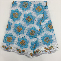 Wholesale Swiss Cotton Voile Lace - Best Quality African Lace Fabric Swiss Voile Lace High Quality Cotton pl4881