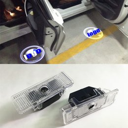 Wholesale Led Logo Bmw - 2X No Drilling LED Ghost Shadow Projector Laser Courtesy Logo Light For BMW E39 E53 X5