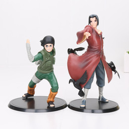 Wholesale Sasuke Pvc - Toys Hobbies Action Toy Figures 2pcs set Anime Naruto Uchiha Madara Uchiha Sasuke PVC Action Figures Model Toys