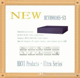 Wholesale Dvr Channels Dahua - DAHUA 16 Channel 1080P 2U Digital Video Recorder Without Logo HCVR8816S-S3
