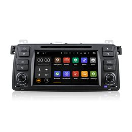 Wholesale Dvd For Bmw M3 - Android 5.1.1 Car DVD Radio Player GPS Navigator for BMW 3 Series E46 M3 Rover 75 With Wifi Bluetooth DAB+ CanBus