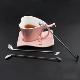 Wholesale Food Elements - Creative Music Element Spoon Ice Cream Coffee Kitchen Gadgets Stainless Steel Dessert Spoon Food Used Stainless Steel Dinnerware