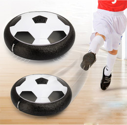 Wholesale Pro Discs - Amazing Play like a pro Montessori Child Toys Soccer Disc Multi-surface Hovering Gliding football sports Toys For Kids Indoor