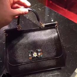 bolso azul negro Rebajas Clásico de las mujeres sarga diagonal de oro bolsa de cadena de hombro bolsa de mensajero bolso bolso Bolsos grandes Negro Azul Rojo