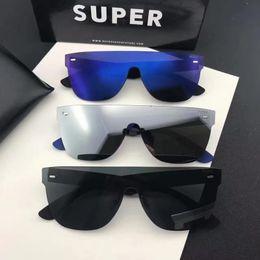 Wholesale Super Cats - Sunglasses Super By Retrosuperfuture Tuttolente flat top Designer sunglasses Brand New with Box