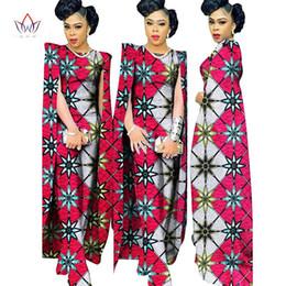Wholesale Long Sleeve Gray Batwing Dress - 2016 Complete Bodysuit African Women Clothing Jumpsuit Women Private Custom Plus Size Women Clothes Unique Original Complete Bodysuit WY102
