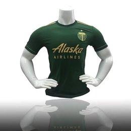 Wholesale High Johnson - URRUTI Major League Soccer Timbers green 2017 2018 VALERI WALLACE ADI JOHNSON Thailand high quality soccer shirt