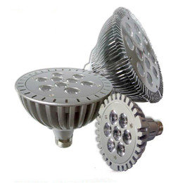 Wholesale Spotlight Down - CREE Led 7W par30 bulb E27 with 7 LEDS 85-265V LED Lights Spotlight Lamp led Bulbs down light for clothing shop Hotel decoration